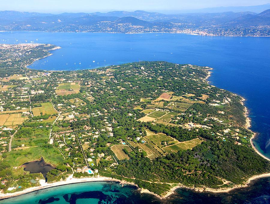La presqu'île de Saint Tropez